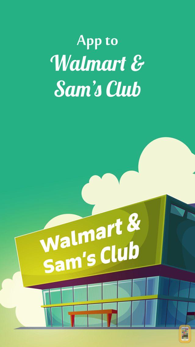 Screenshot - App to Walmart and Sam's Club
