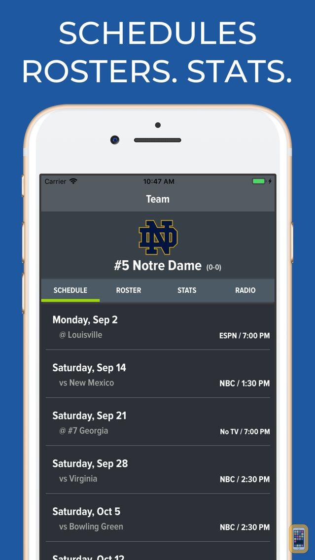 Screenshot - Notre Dame Football