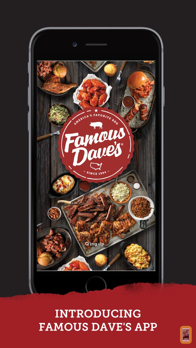 Screenshot - Famous Dave's