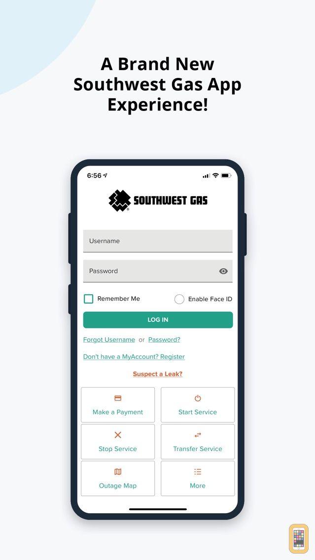 Screenshot - Southwest Gas