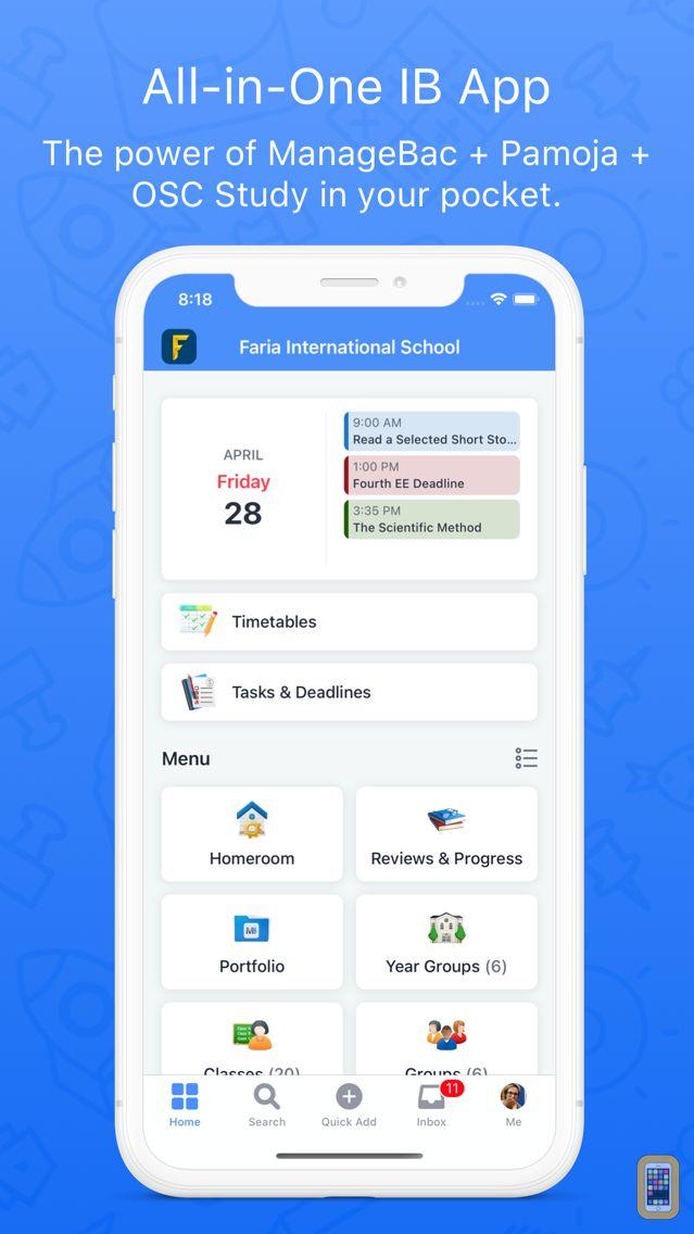 Screenshot - ManageBac