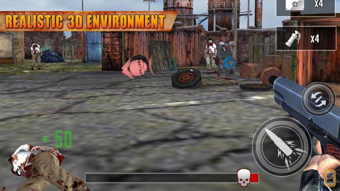 Screenshot - City Hunter Zombie 3D