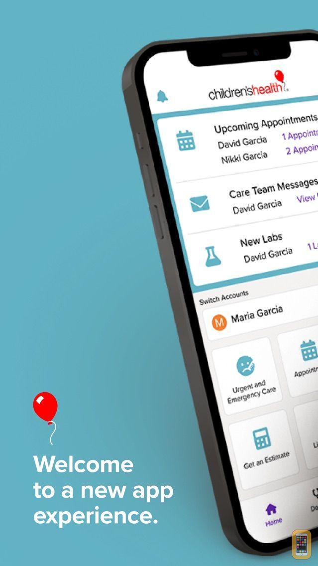 Screenshot - Children's Health App