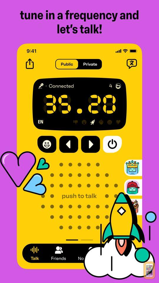 Screenshot - Walkie-talkie - COMMUNICATION