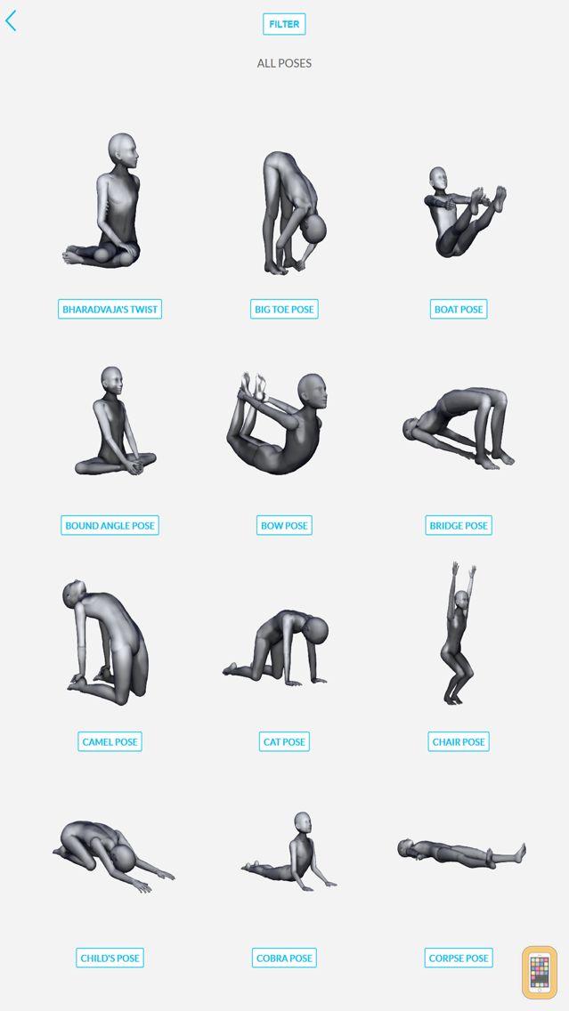 Screenshot - 3D Yoga Poses