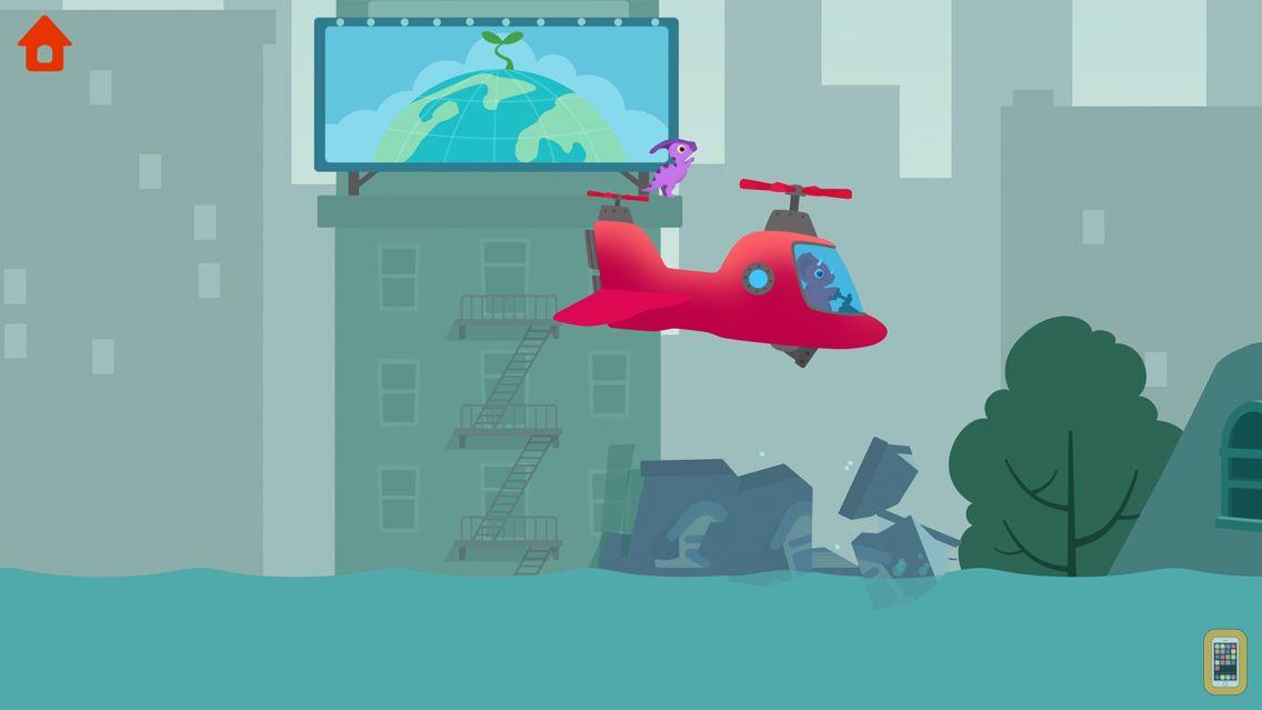 Screenshot - Dinosaur Helicopter