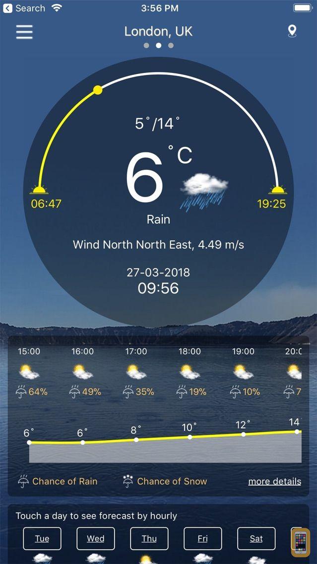 Screenshot - Weather : Weather forecast Pro