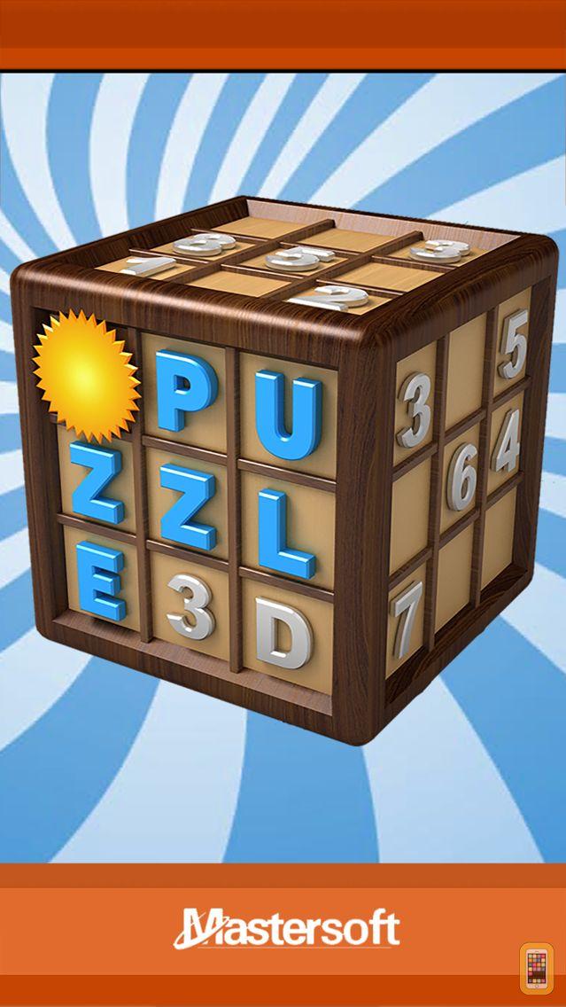 Screenshot - 3D Number Puzzle No Ad Version