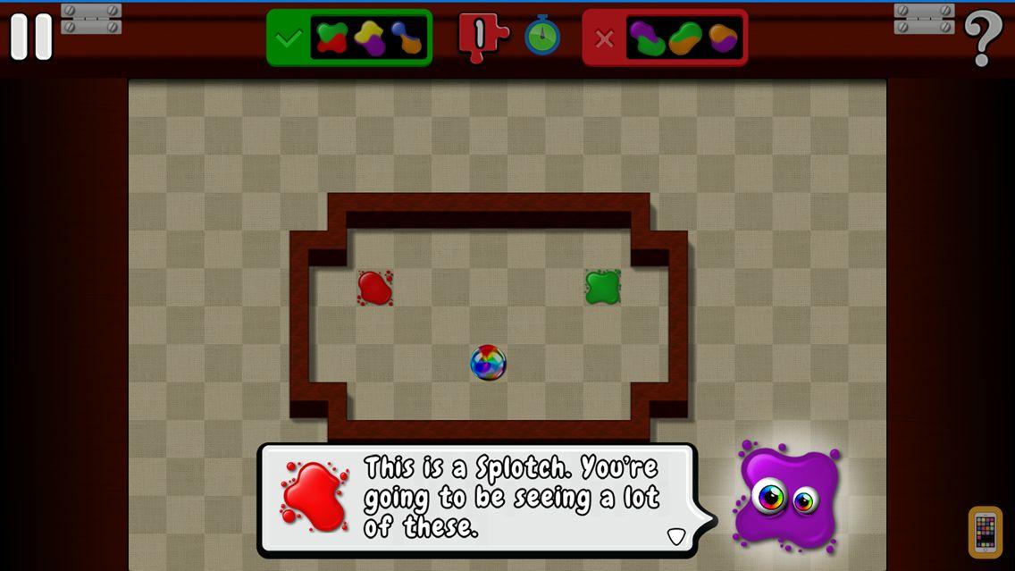 Screenshot - Splotches: Paint Mixing Puzzle