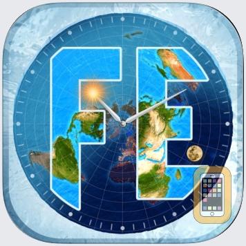 Flat Earth Sun, Moon & Zodiac by Paige Windle (Universal)