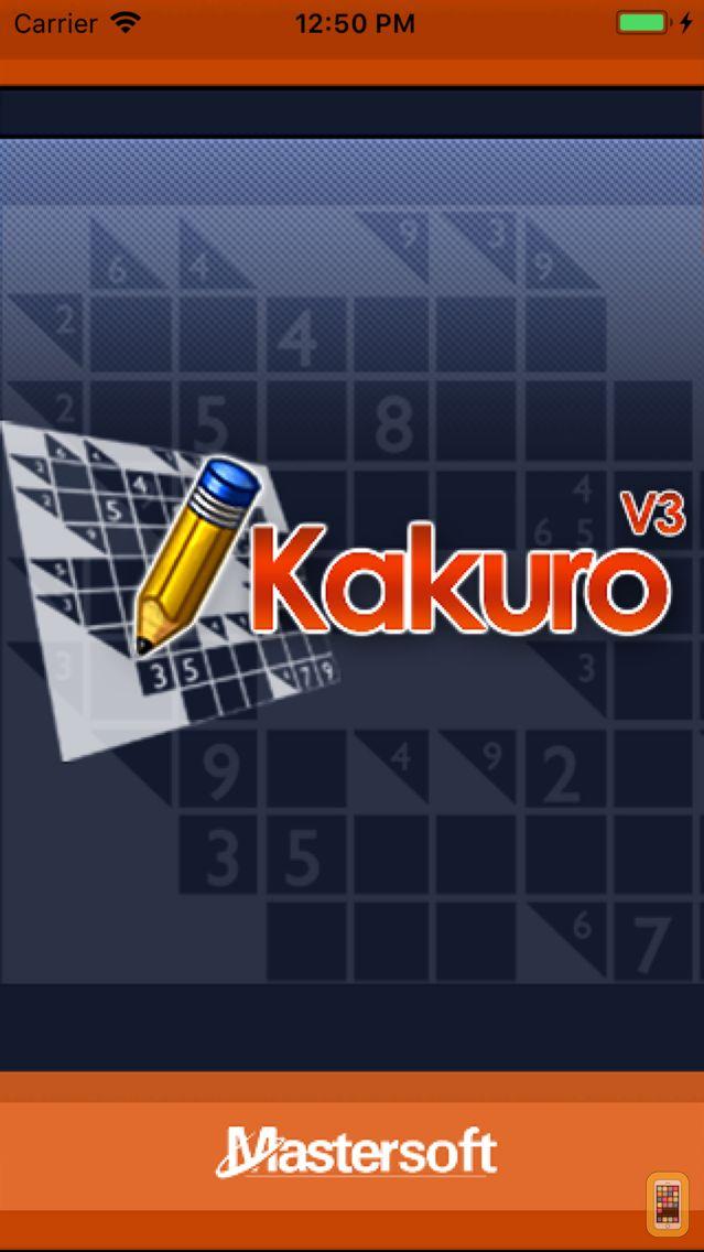 Screenshot - Kakuro - No Ads Edition