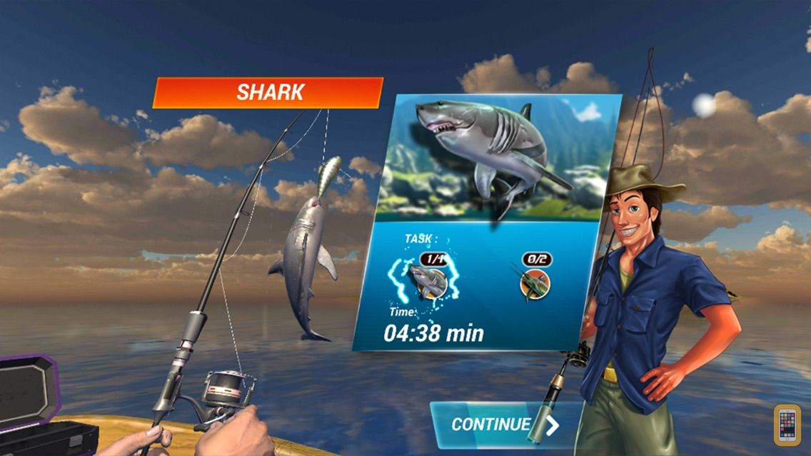 Screenshot - Fishing Deep Sea Simulator 3D