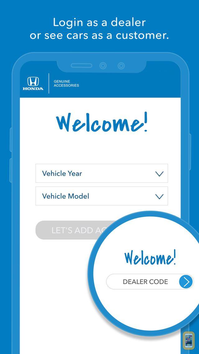 Screenshot - Genuine Honda Accessories