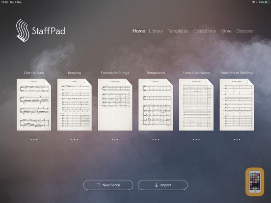 Screenshot - StaffPad