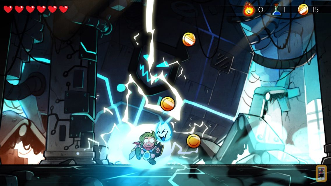 Screenshot - Wonder Boy: The Dragon's Trap