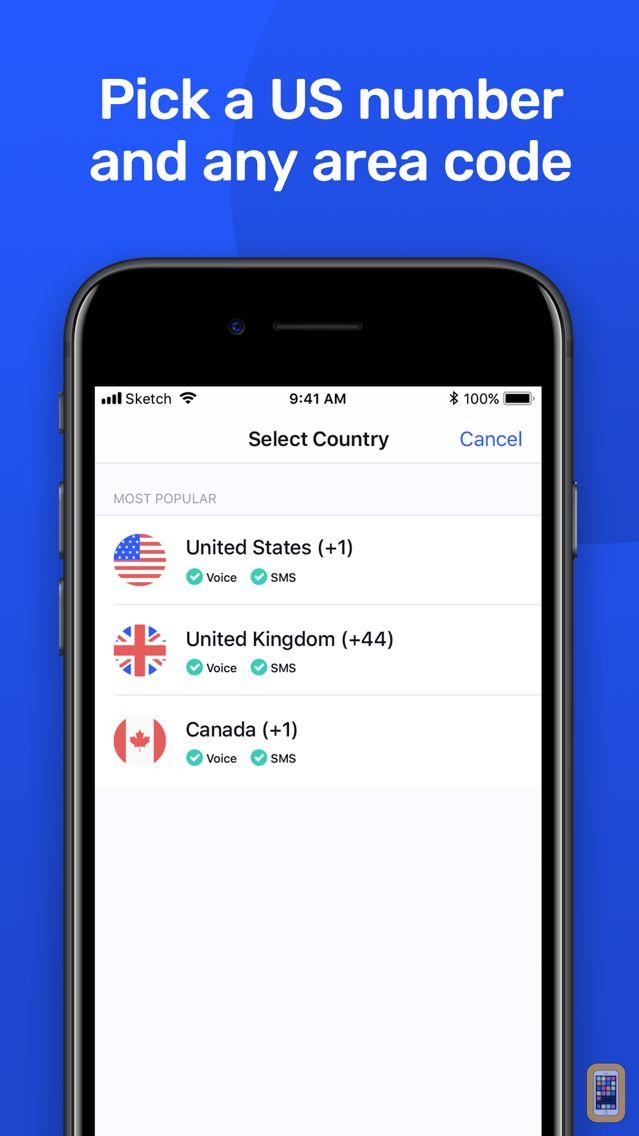 Screenshot - PhoneLine - 2nd Phone Number