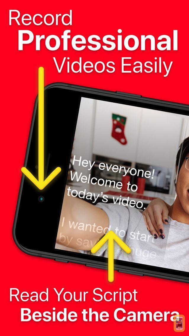 Screenshot - Video Teleprompter