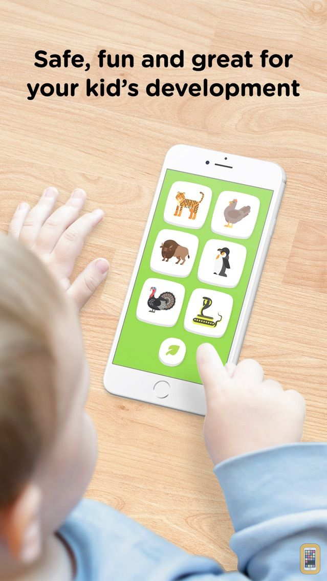 Screenshot - Zoo Sounds – Safe Toddler Fun