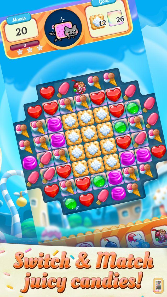 Screenshot - Nyan Cat: Candy Match