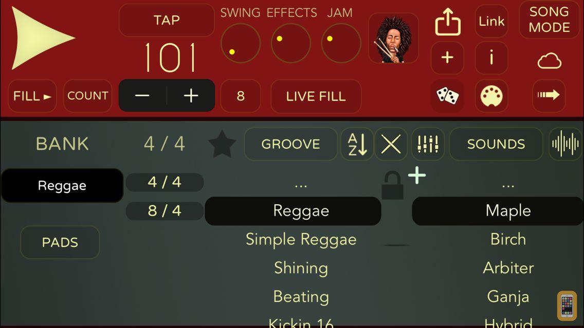 Screenshot - Reggae Drummer