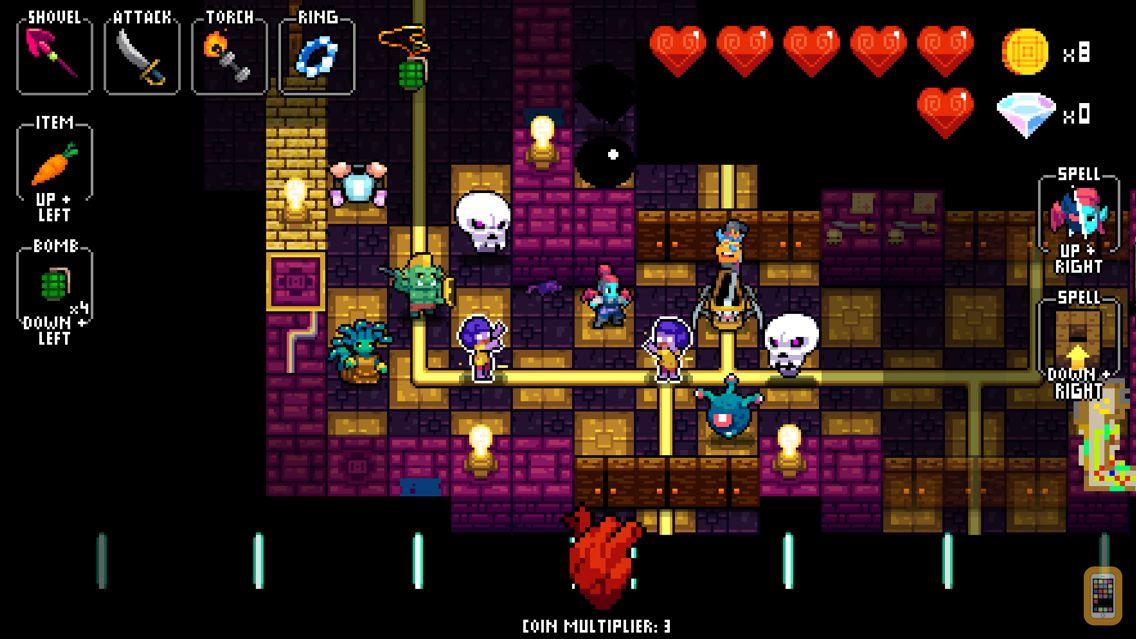 Screenshot - NecroDancer: AMPLIFIED