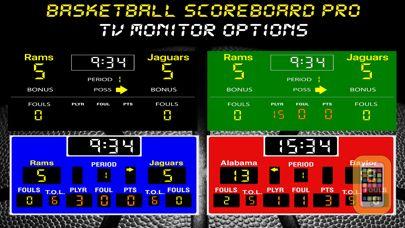 Screenshot - Basketball Scoreboard Pro