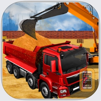 Driving Truck Construction Cit by HOANG THI KHICH (Universal)