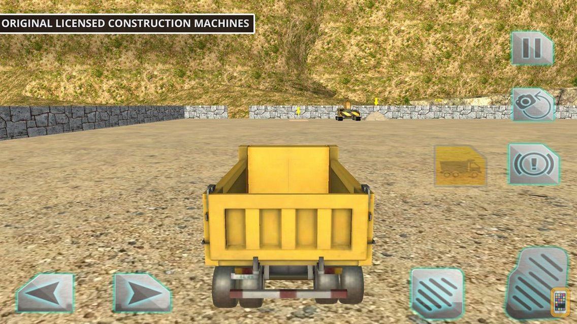 Screenshot - Driving Truck Construction Cit