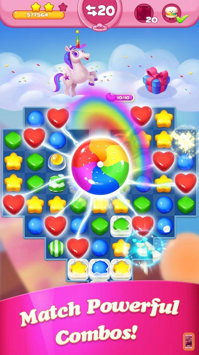 Screenshot - Cakingdom - match 3 puzzle