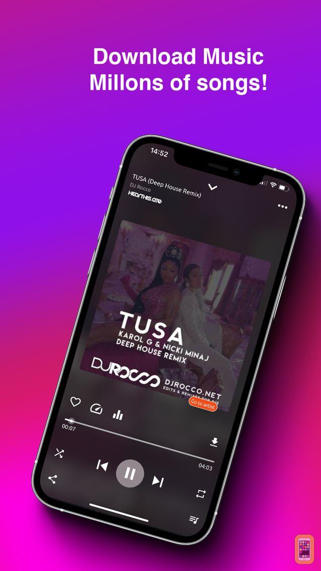 Screenshot - Music Downloader & Player