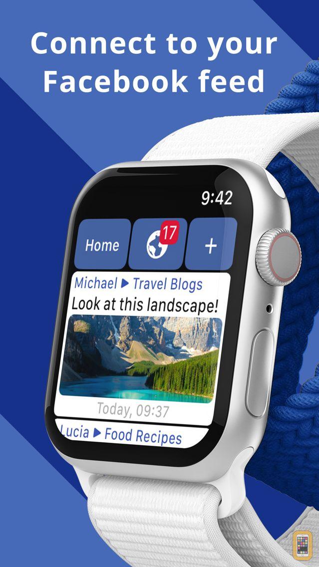 Screenshot - WristWeb for Facebook