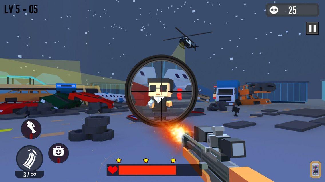 Screenshot - Block Shooting Hero - Gun Game