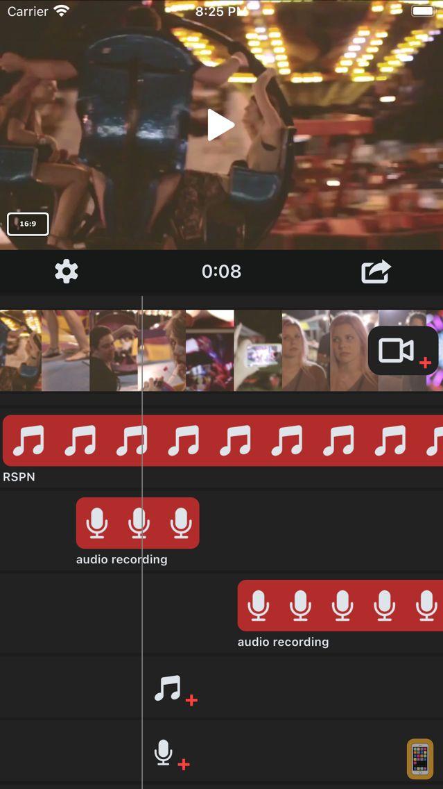 Screenshot - Add Background Music to Vid