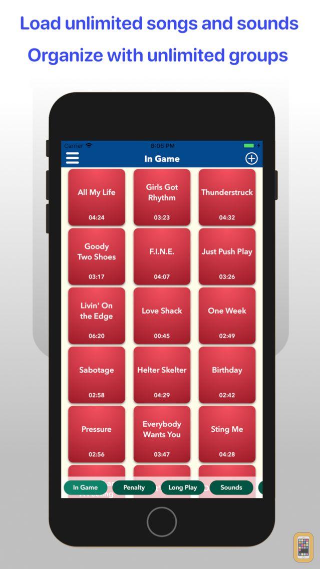 Screenshot - Sports Audio DJ