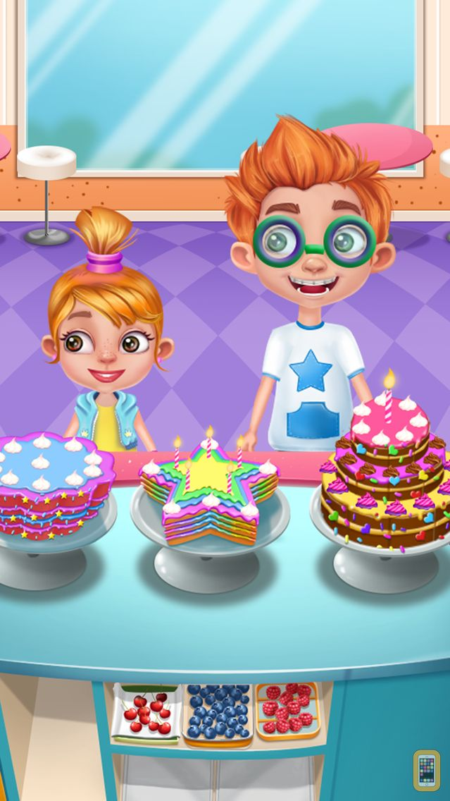 Screenshot - Cooking Cake: Baby Candy Chef