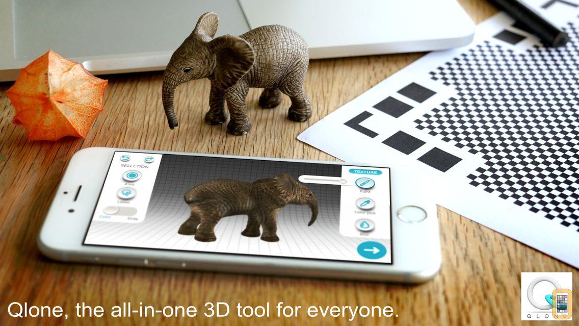 Screenshot - Qlone 3D Scanner for EDU