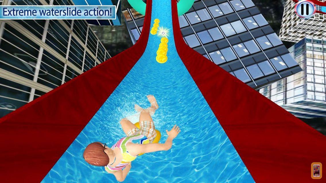 Screenshot - Water Slide: Thrilling Amazing