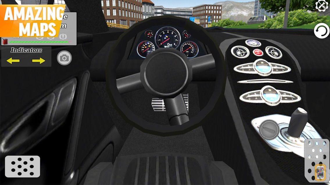 Screenshot - Sport Car Driving: City Advent