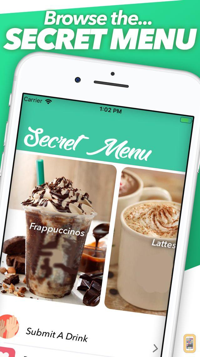 Screenshot - Secret Menu for Starbucks VIP