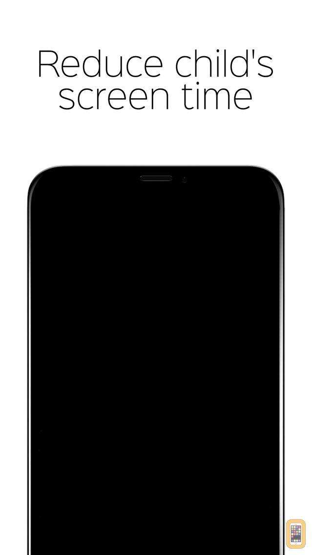 Screenshot - Child lock - black screen