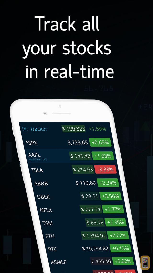 Screenshot - LiveQuote: Stocks & Cryptos