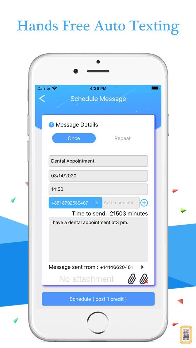 Screenshot - AutoSender Pro - Auto Texting