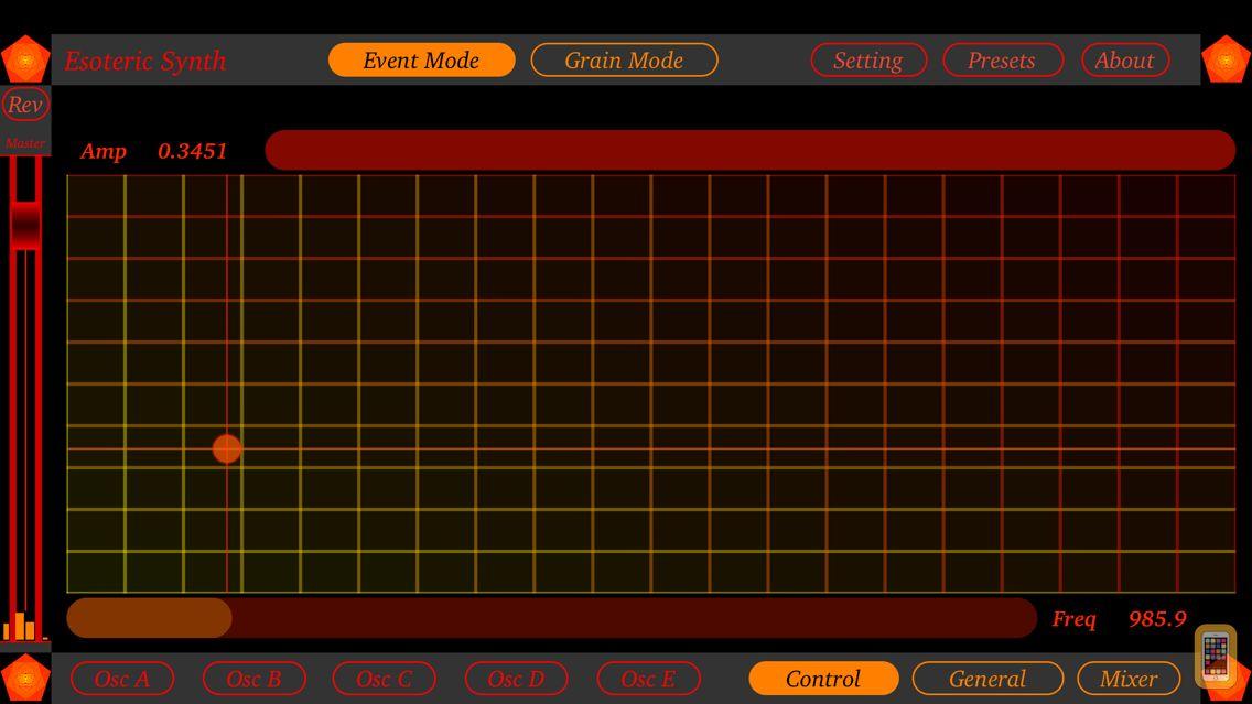 Screenshot - Esoteric Synth