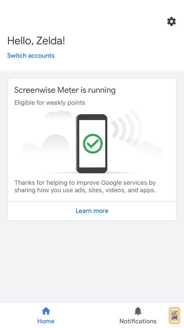 Screenshot - Screenwise Meter
