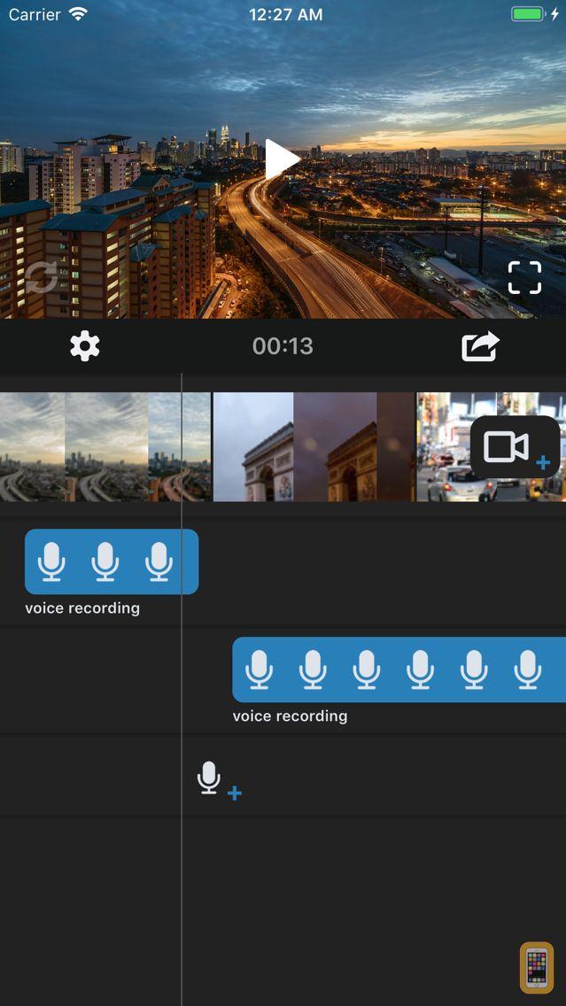 Screenshot - Voice Over Video