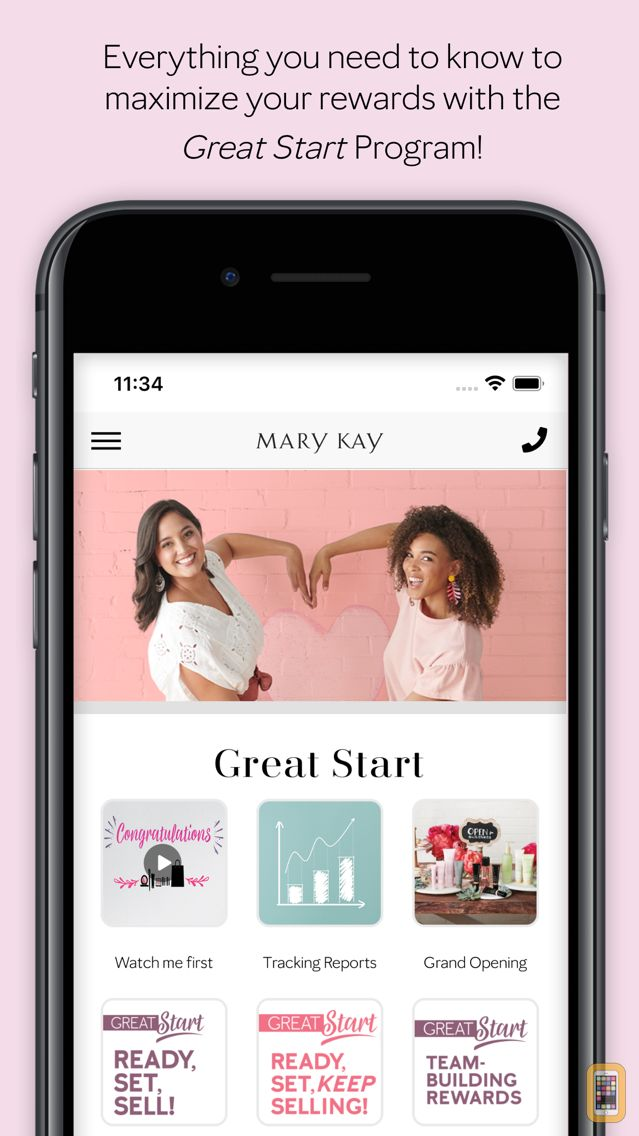 Screenshot - Mary Kay® Great Start