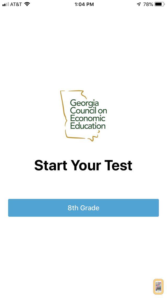Screenshot - GCEE 8th Grade Test Prep