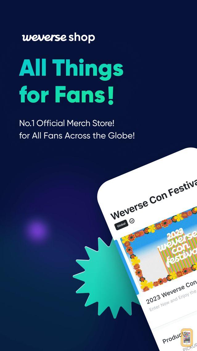 Screenshot - Weverse Shop