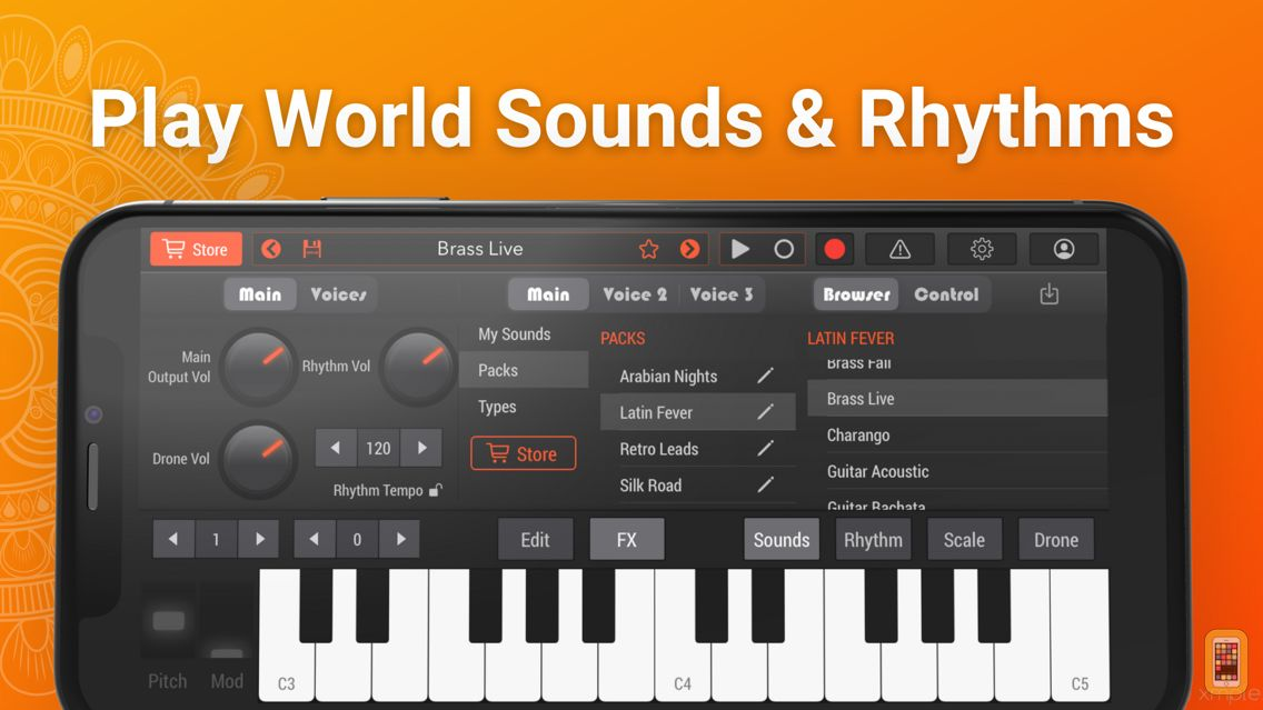 Screenshot - World Synth & Drum Machine