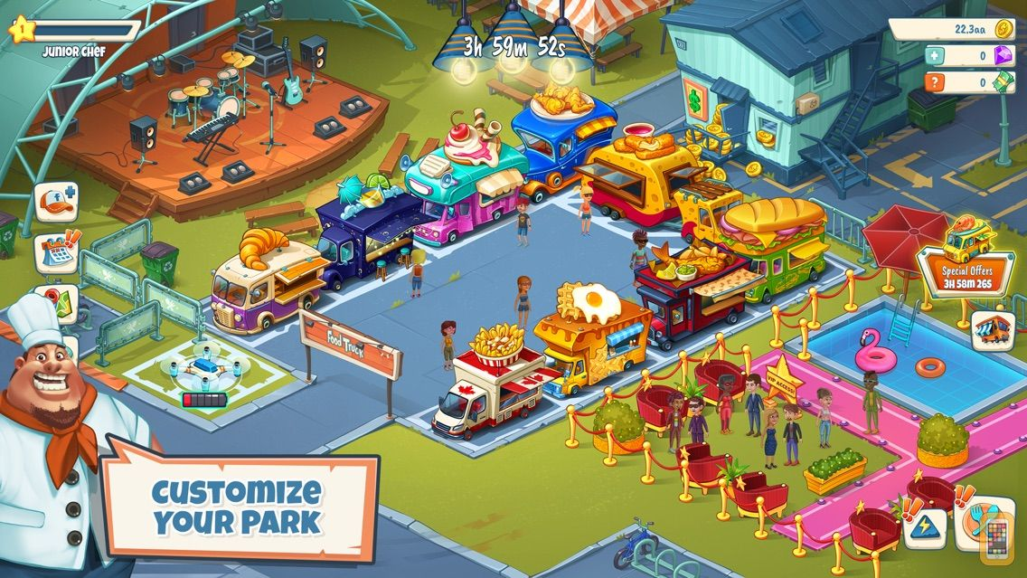 Screenshot - Idle Food Truck Tycoon™